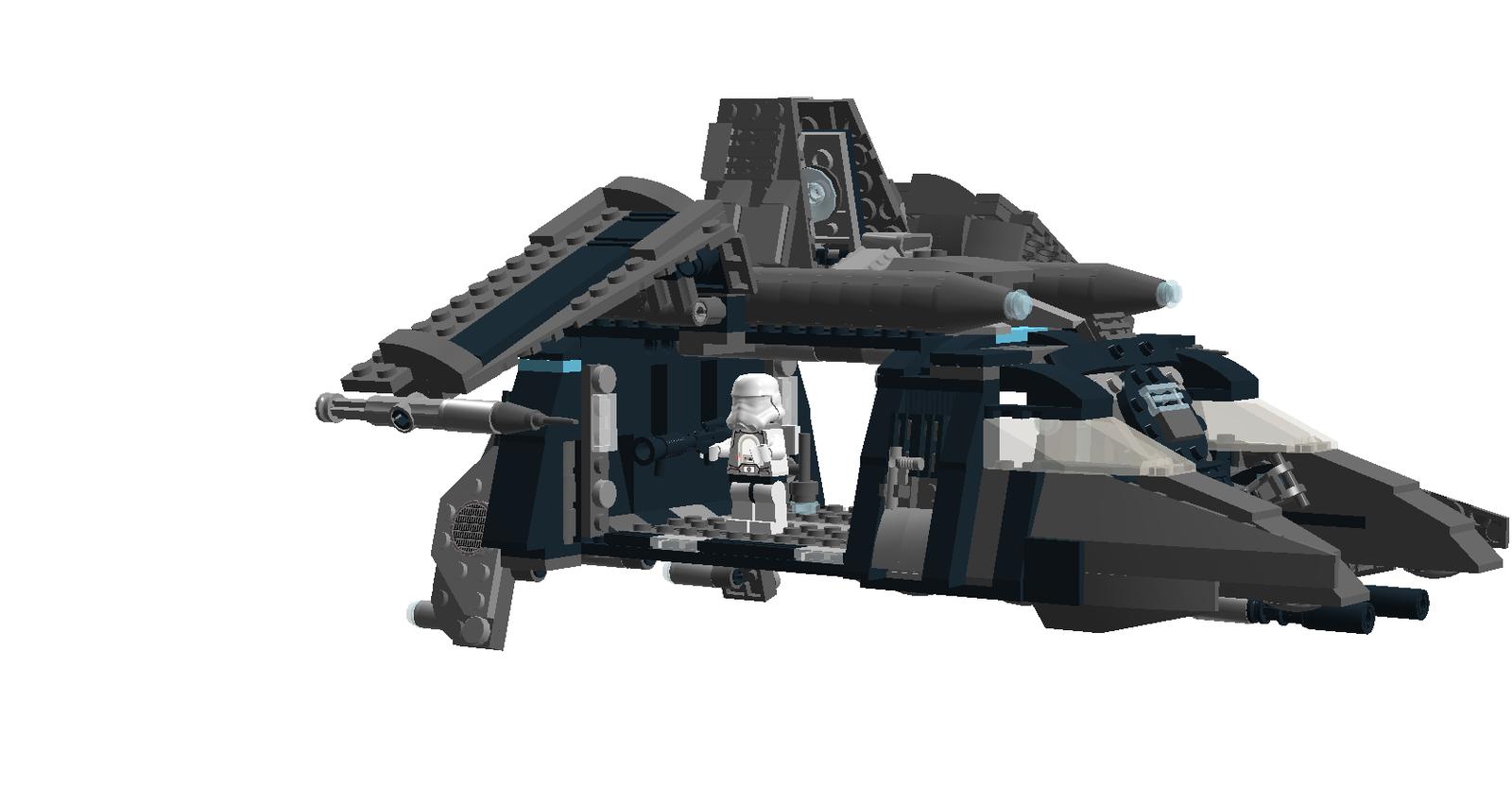 Lego Ideas Product Ideas Imperial Dropship Star Wars
