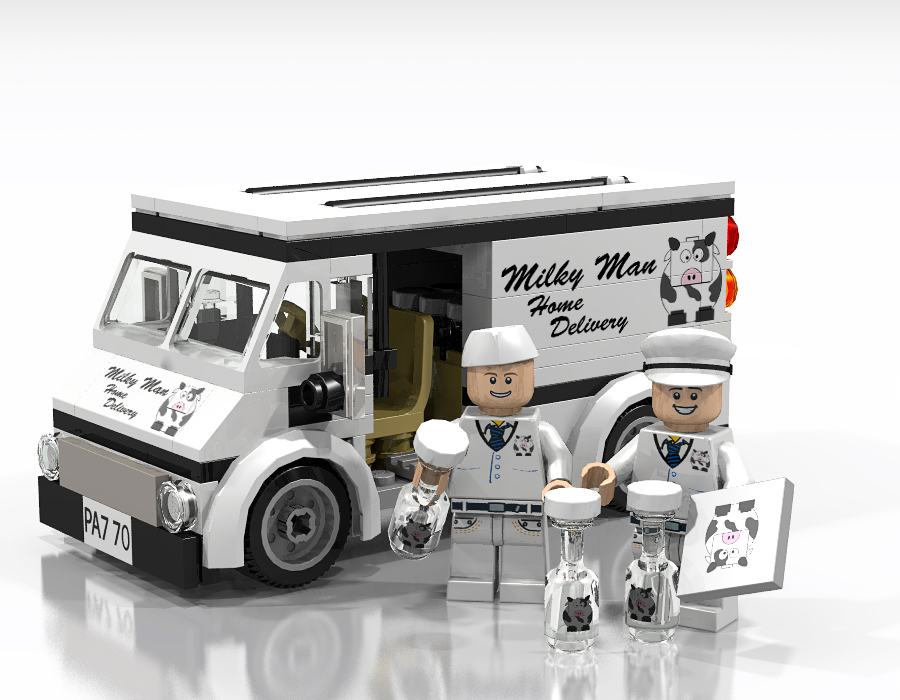 LEGO IDEAS - Product Ideas - Lego Milkman - Home Delivery