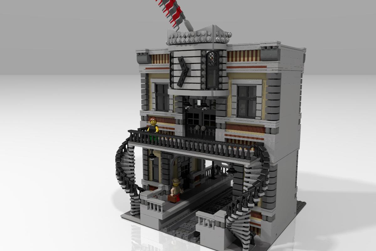 lego ideas product ideas the train station creator. Black Bedroom Furniture Sets. Home Design Ideas