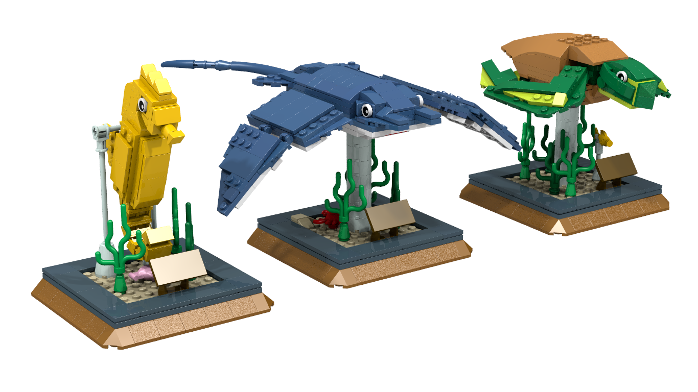 Lego Ideas Product Ideas Lego Sea Animals Project