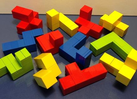 LEGO IDEAS - Tetris Cube