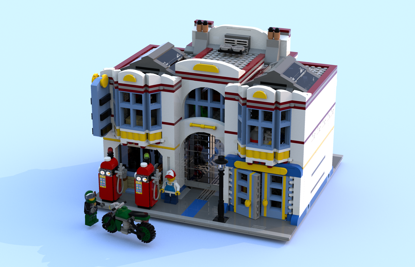 Lego Ideas Product Ideas The Modular Old Garage