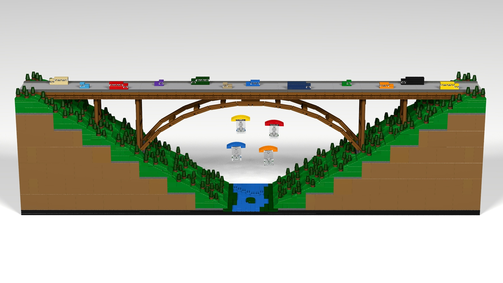 Lego Arch Bridge Diagram Of Great Installation Wiring Beam Ideas Product New River Gorge Rh Com Basic