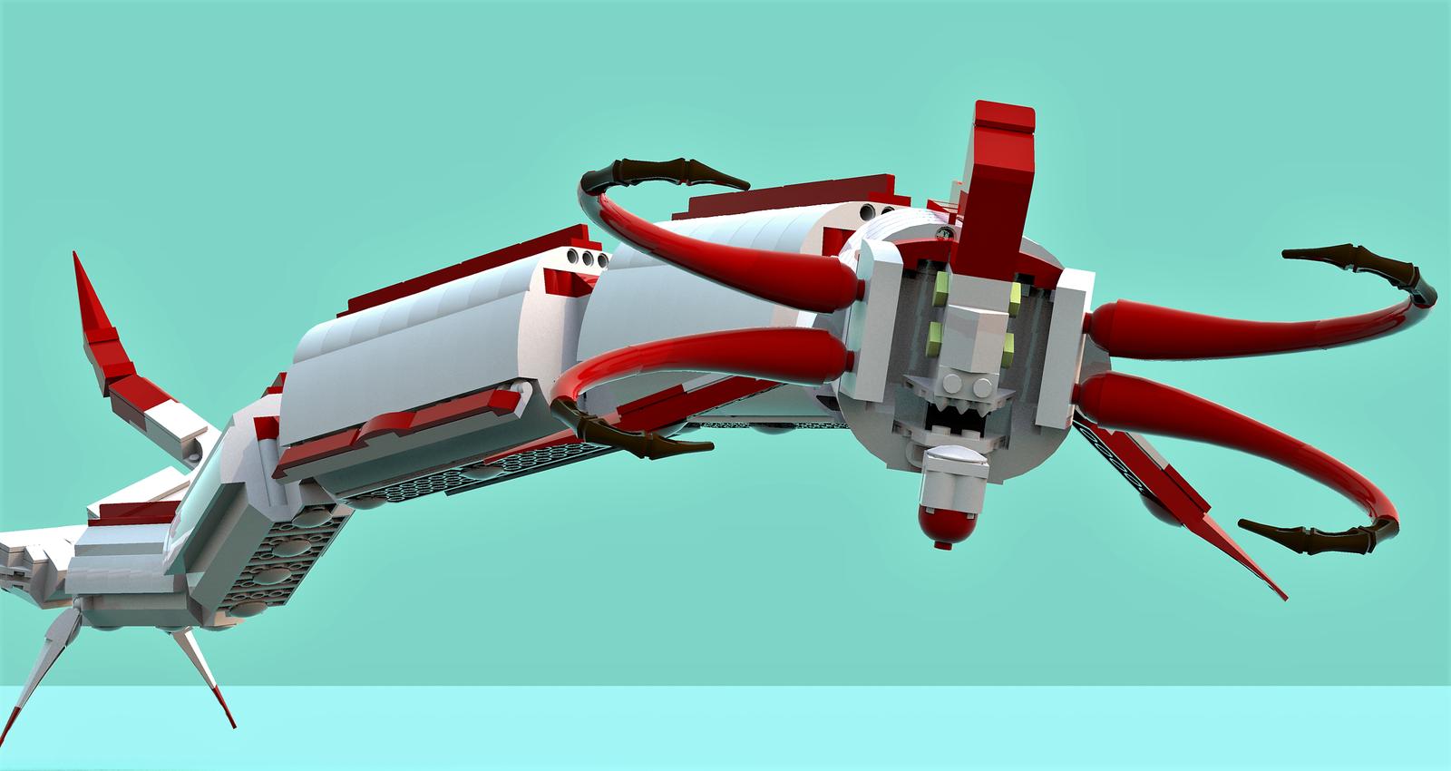 Lego Ideas Product Ideas Subnautica Reaper Leviathan