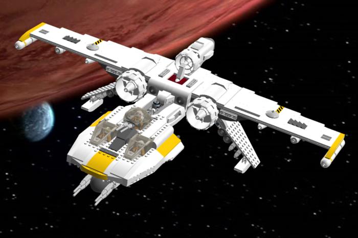 Lego Ideas Product Ideas K Wing Starfighter