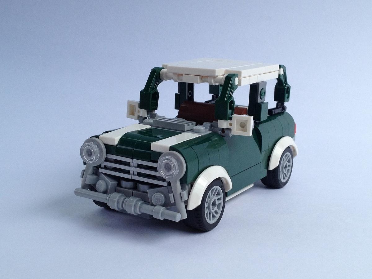 Lego Ideas Product Ideas Mini Cooper Minifigure Scale