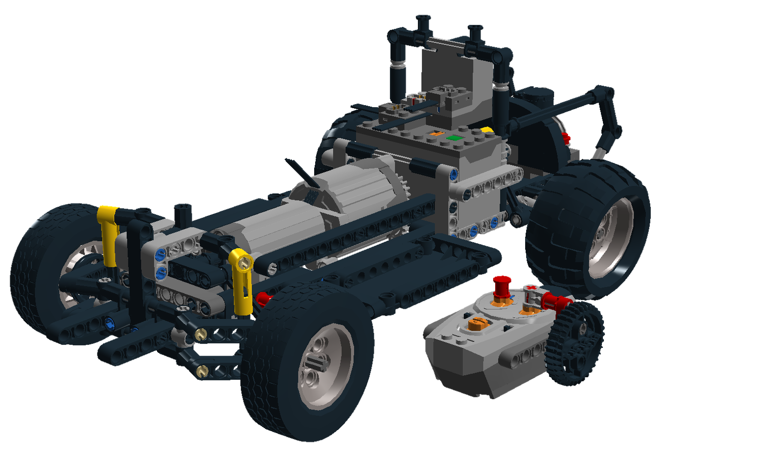 Lego Ideas Product Ideas Rc Chassis Vw Edition