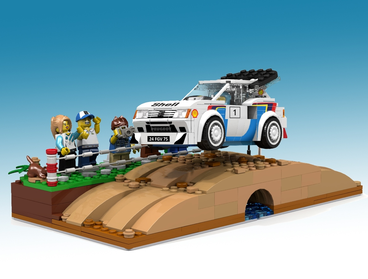 Peugeot 205 Turbo 16 Lego Speed Champions