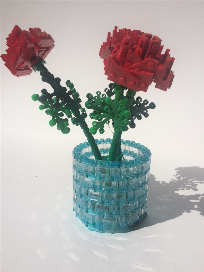 Lego Ideas Product Ideas Roses In A Vase