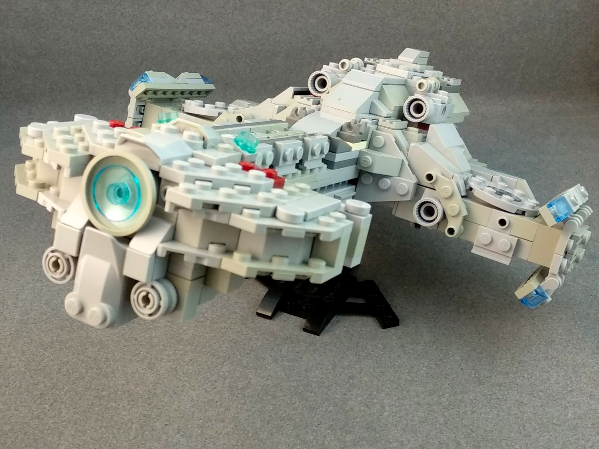 LEGO IDEAS - Product Ideas - StarCraft 2 Hyperion Battle Cruiser