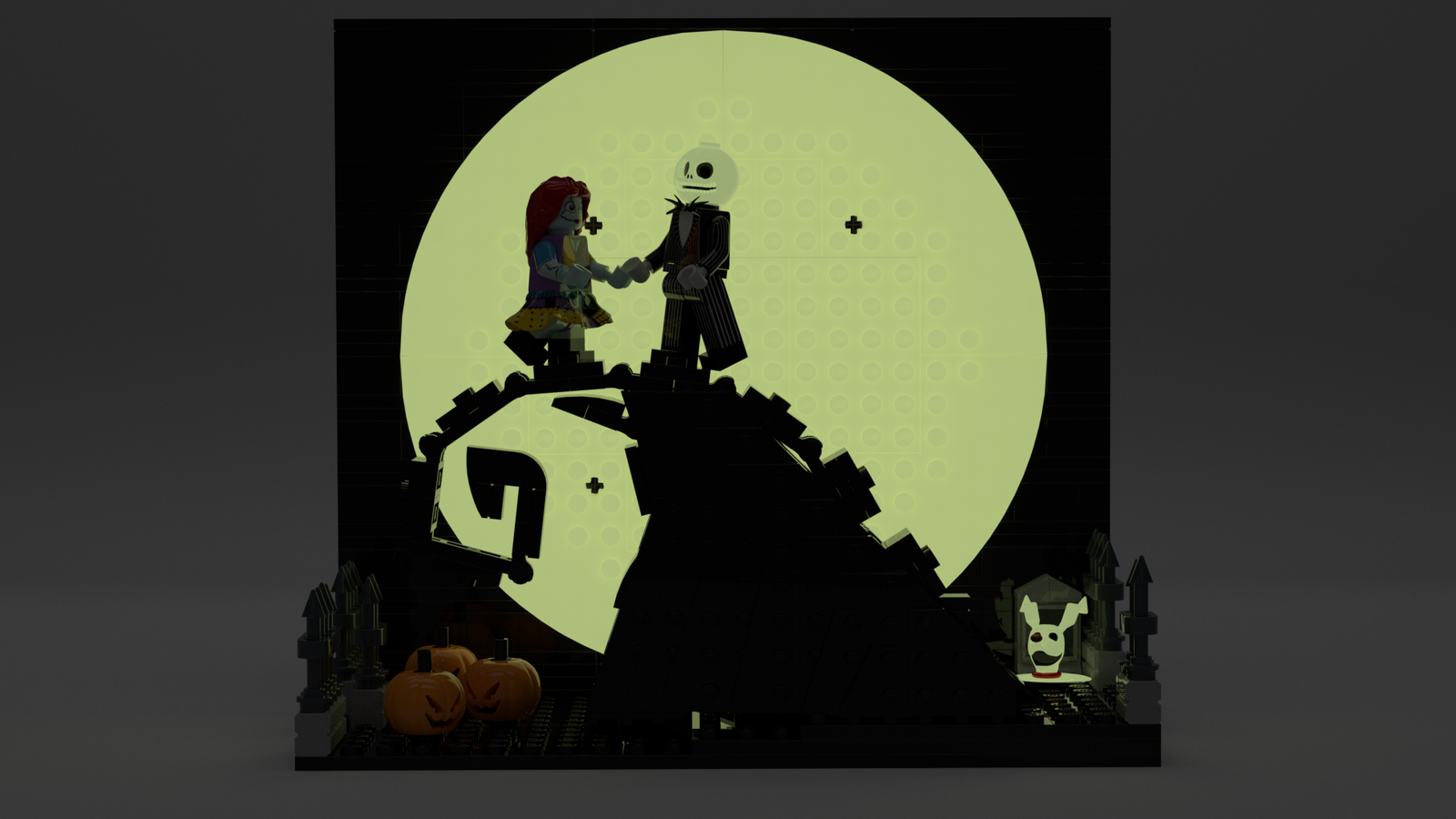 LEGO IDEAS - Product Ideas - The Nightmare Before Christmas: Simply ...