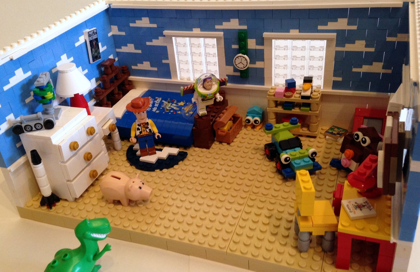 Lego Ideas Product Ideas Toy Story Andy S Room