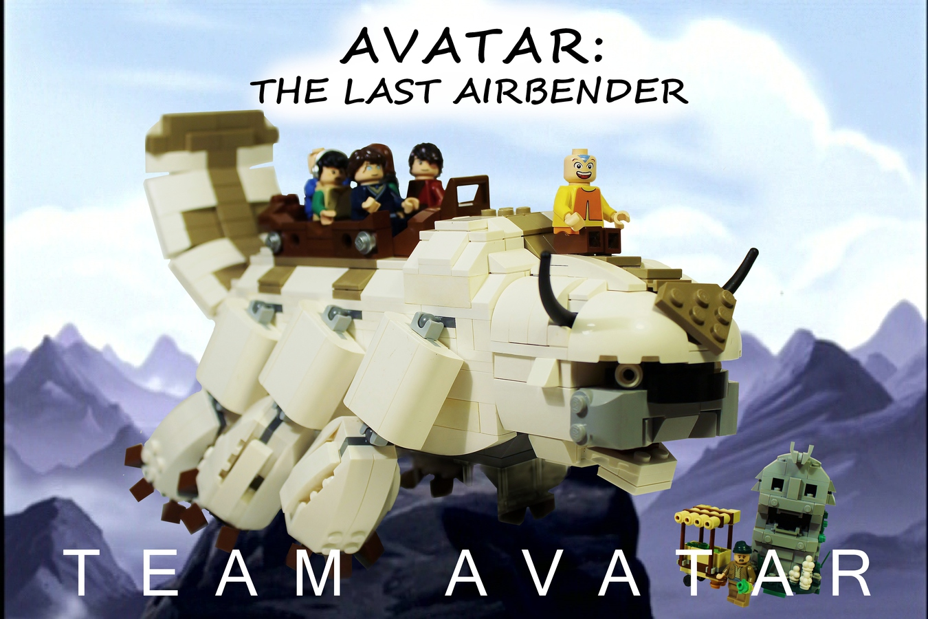 LEGO IDEAS - Product Ideas - Avatar the Last Airbender: Team