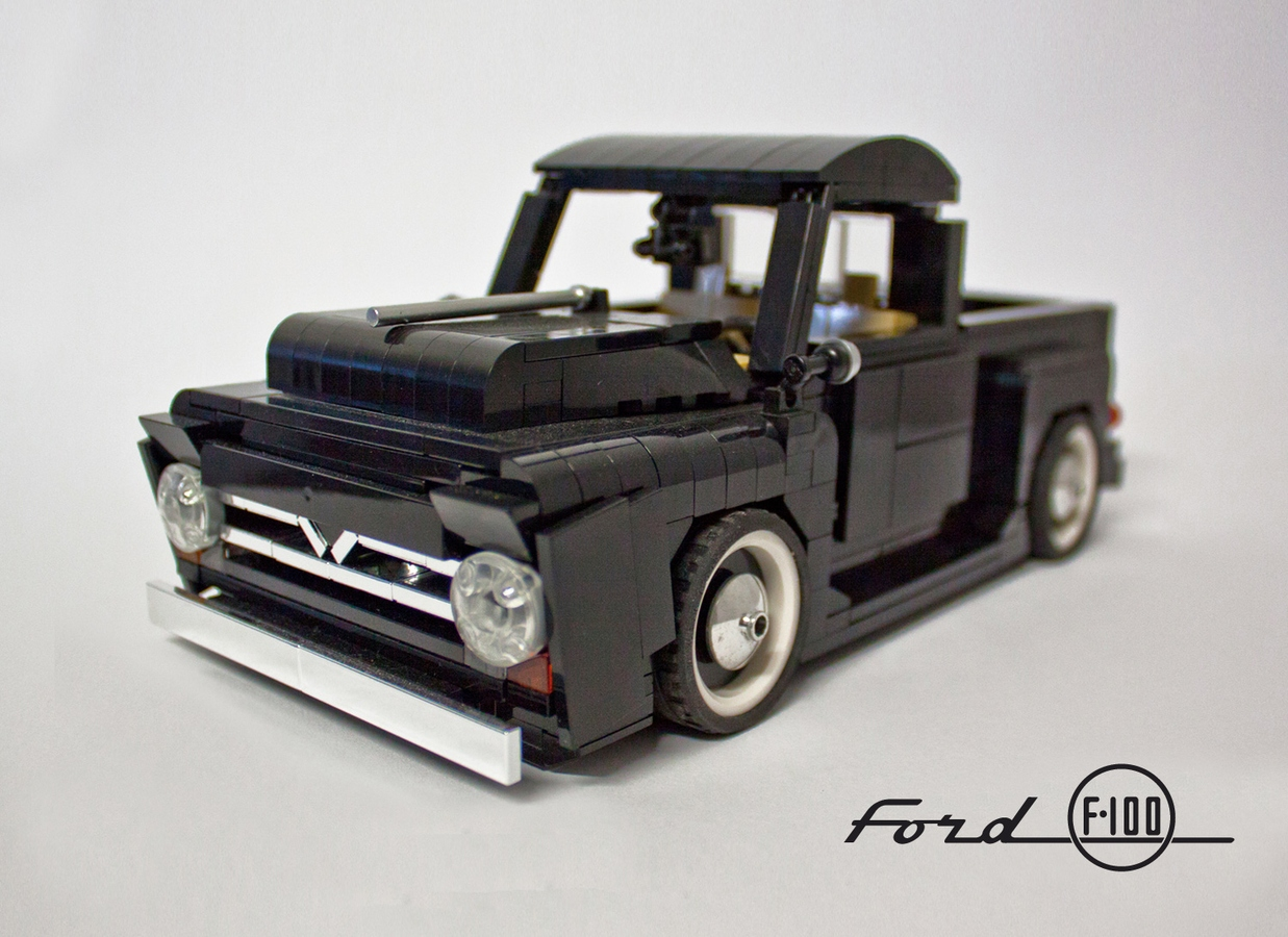 Lego Ideas Product Ford F 100 118 1955 F100 Step Bed