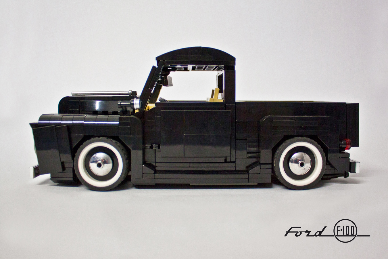 Lego Ideas Product Ford F 100 118 1955 F100 Parts 1 11