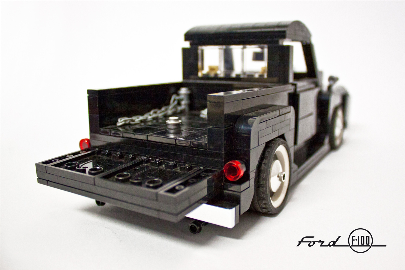 Lego Ideas Product Ford F 100 118 1955 F100 Truck Project 1 11