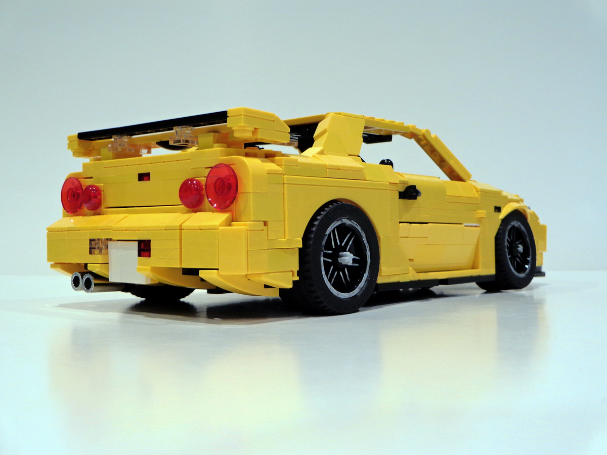 lego ideas product ideas nissan skyline gtr r34