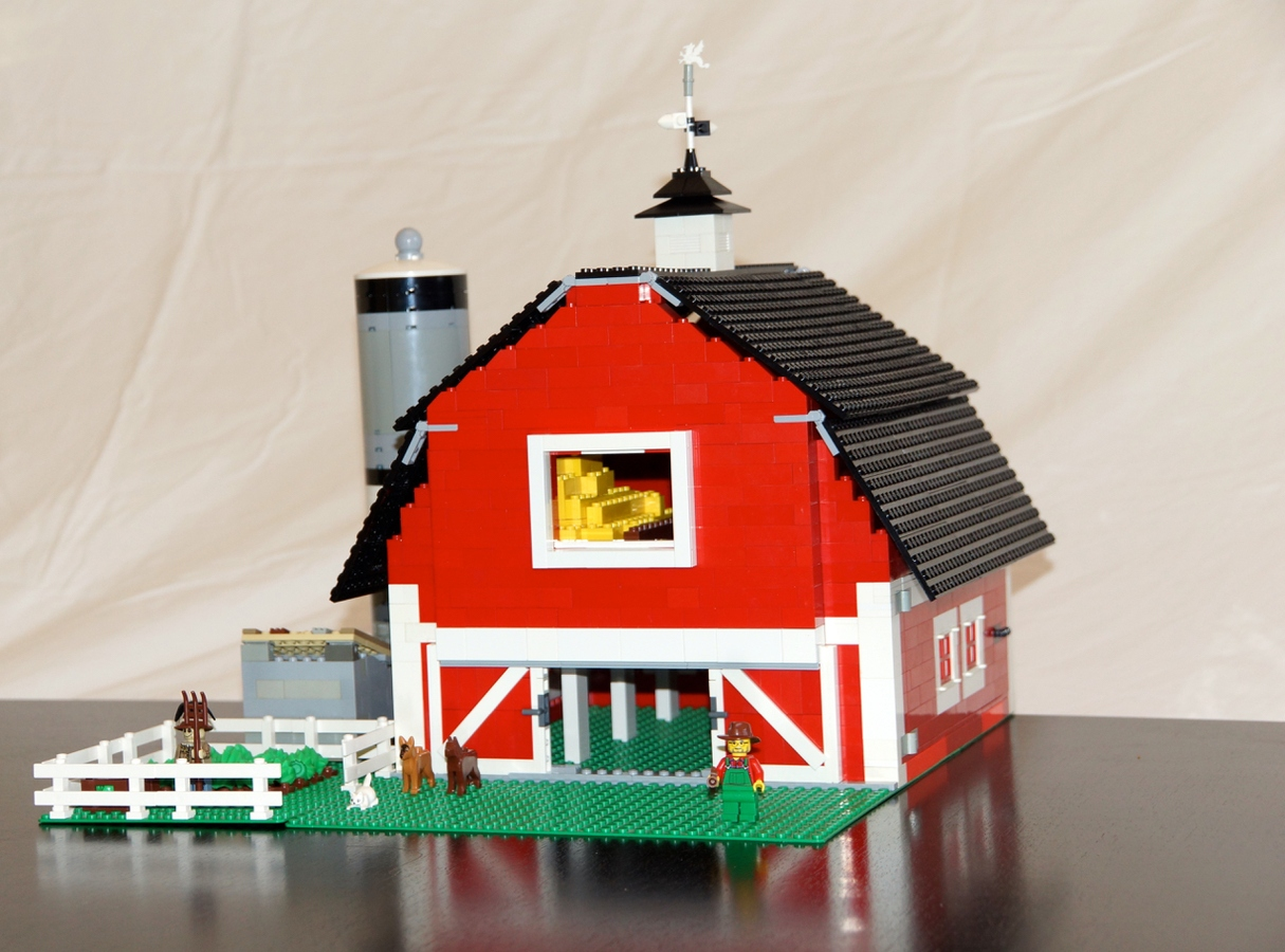 Lego Ideas Product Ideas Old Timers Red Barn