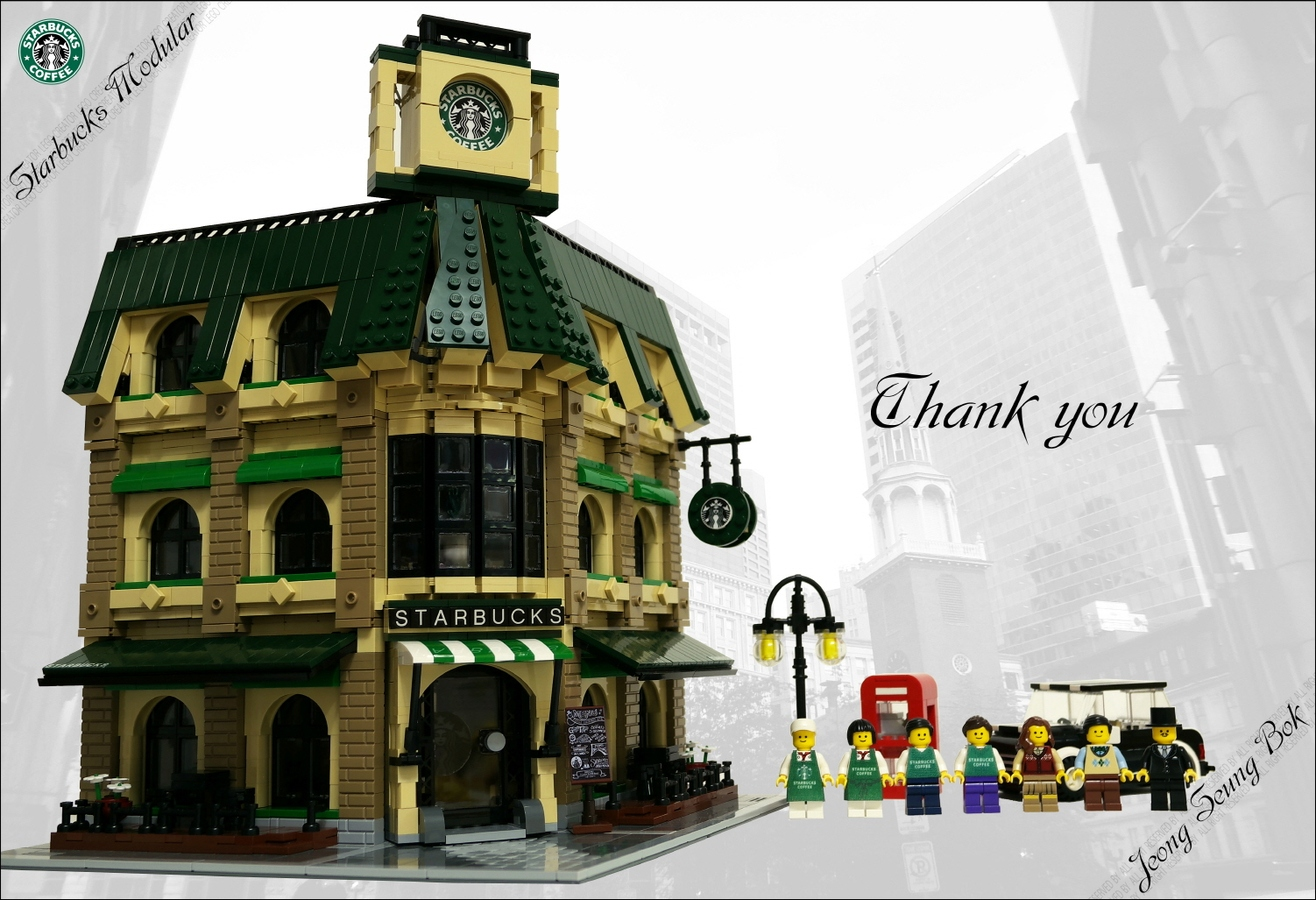 LEGO IDEAS - Product Ideas - LEGO Starbucks Cafe Modular