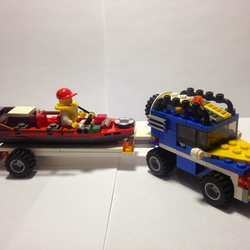 Lego Ideas Product Ideas Off Road Truck With Rescue