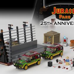 Lego Ideas Product Ideas Jurassic Park 25th