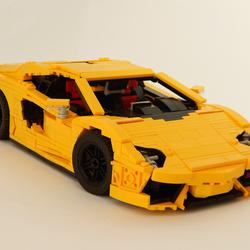 Lego Ideas Product Ideas Lamborghini Aventador Lp700 4