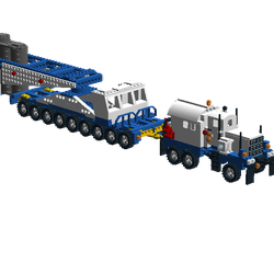 Lego Ideas Product Ideas Pacific Ultra Heavy Tow Truck