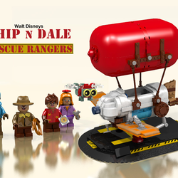Lego Ideas Product Ideas Chip N Dale Rescue Rangers