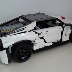 Lego Ideas Product Ideas Lego Technic Lamborghini Centenario Lp