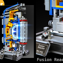 Lego Ideas Product Ideas Iter Fusion Reactor Segment