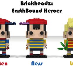 LEGO IDEAS - Product Ideas - Brickheadz: EarthBound Heroes