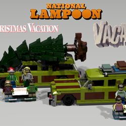 Lego Ideas Product Ideas National Lampoon S Vacation Wagon Queen