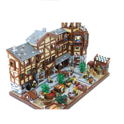 LEGO IDEAS - Product Ideas - Medieval Market Street