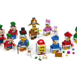 LEGO IDEAS - Product Ideas - DuckTales Brickfigures