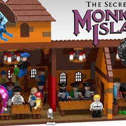 Lego Monkey Island Avatar