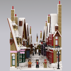 LEGO IDEAS - Recreating a Magical Harry Potter™ Holiday