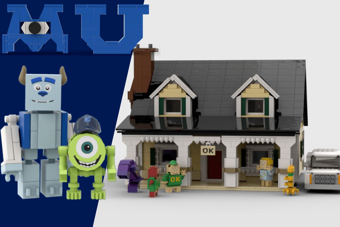 Lego Ideas Monsters University Oozma Kappa Fraternity House