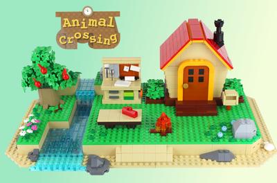 Lego Ideas Froggy Chair