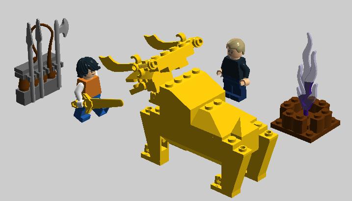 LEGO IDEAS - Percy Jackson, The Sea Of Monsters: Colchis ...  Lego Percy Jackson Luke