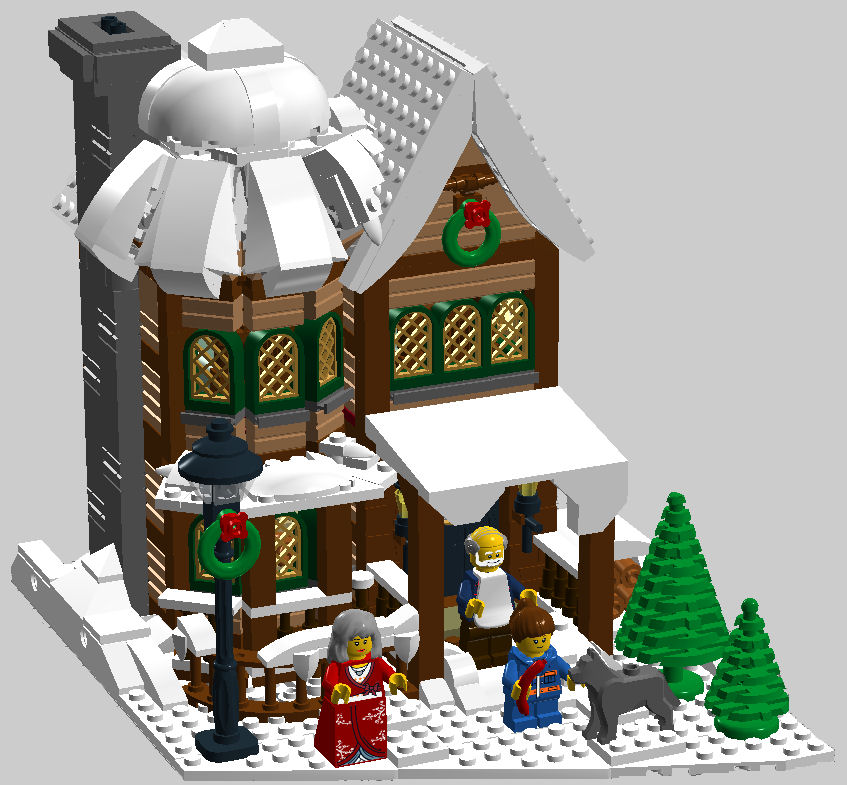 LEGO IDEAS - New Years Eve in Winter Village