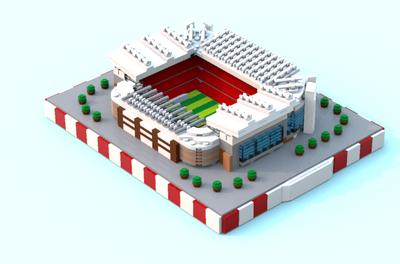 Liverpool Anfield Lego Set