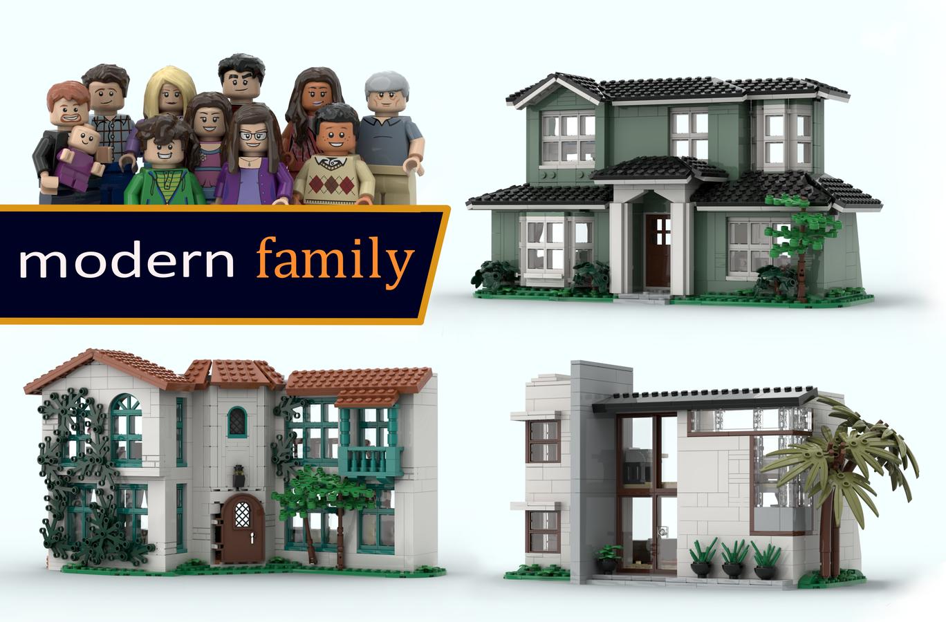 Lego Ideas Modern Family