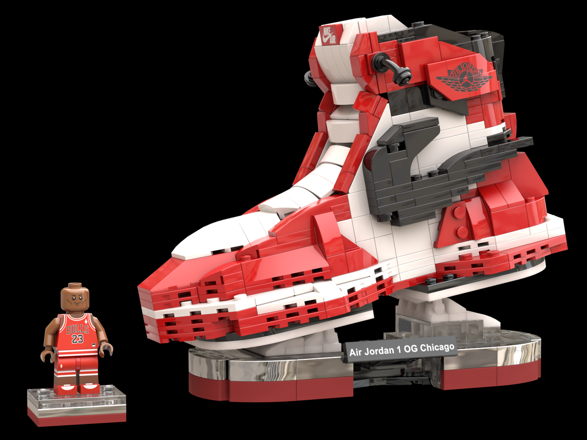 LEGO IDEAS - Air Jordan 1 OG Chicago