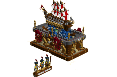 PIRATES LEGO 2 X CANNONS SHIPS BOATS SOLDEIR CASTLES IMPERIAL GUARD