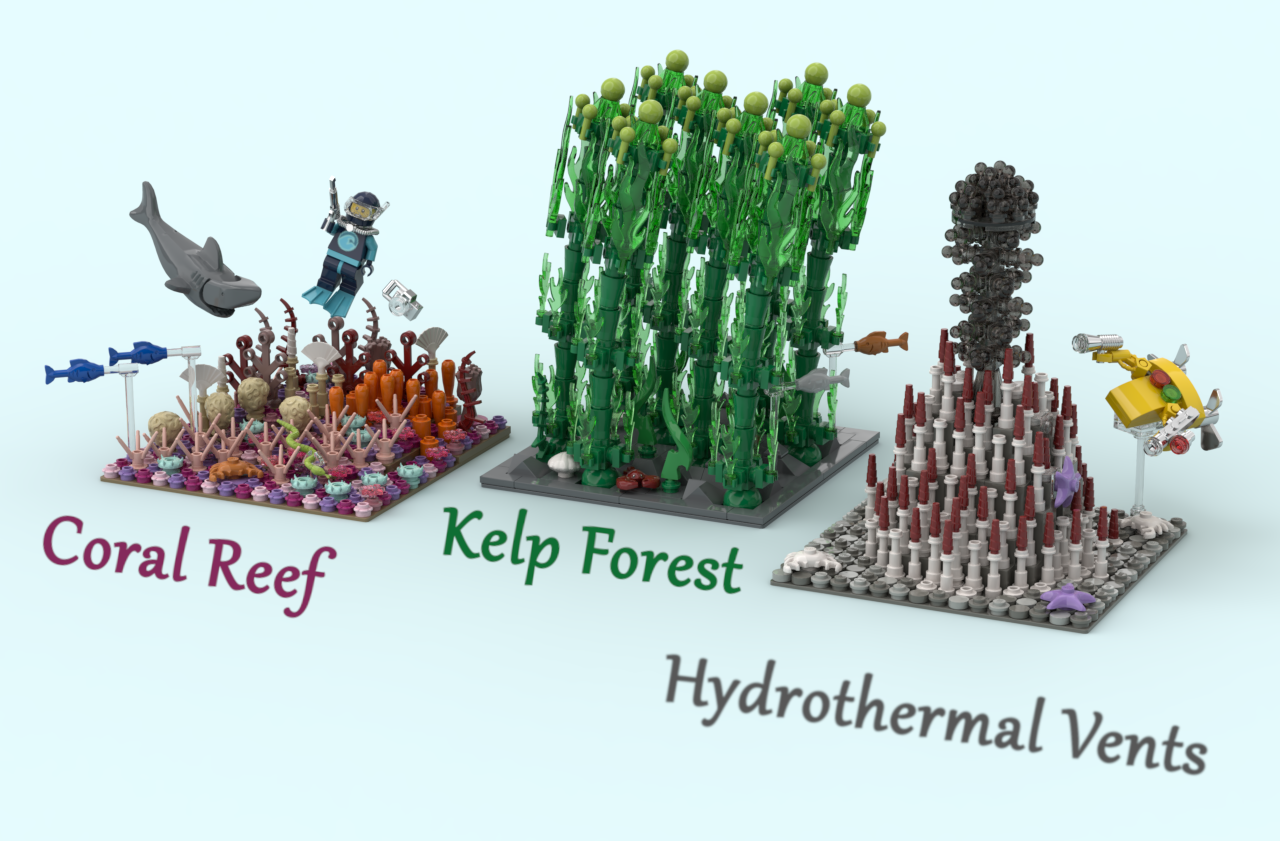 Lego Ideas Ocean Ecosystems