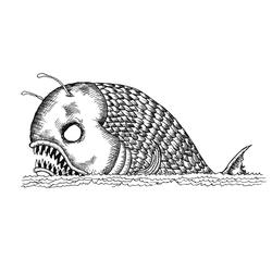 Sea Monster Fan Avatar