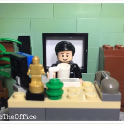 Lego The Office Avatar