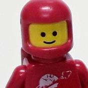 Red Spaceman Avatar