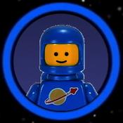 Blue classic spaceman Avatar