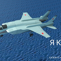 Weird Futuristic Aircraft Avatar
